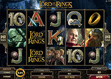 The Lord of the Rings spilleautomat fra Microgaming