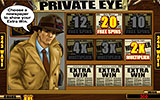Private Eye - bonus runde